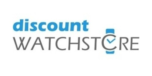 Discount Watch Store Coupon and Promo codes